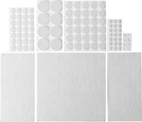 """Набор STAYER """"COMFORT"""": Накладки самоклеящиеся на мебельные ножки, 98 шт, белые"""