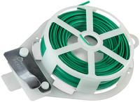 Проволока подвязочная RACO плоская, в пластиковой обойме, 20м