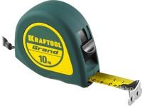 Рулетка KRAFTOOL GRAND, обрезиненный пластиковый корпус