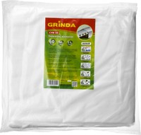 Укрывной материал GRINDA, СУФ-60, белый, фасованый, ширина - 2,1м, длина - 10м