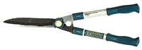 Кусторез RACO с волнообразными лезвиями и облегчен.алюминиевыми ручками, 550мм