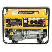 Генератор бензиновый GE 8900, 8,5 кВт, 220В/50Гц, 25 л, ручной старт DENZEL