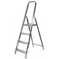 Лестница-стремянка ЗУБР алюминиевая, усиленный профиль