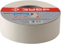 Лента ЗУБР углозащитная бумажная, 50мм х 50м