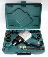 "(JAI-0401K) Набор инструмента: Гайковерт пневматический 1/2""DR 7000 об/мин, 610 Nm, и торцевые голов"