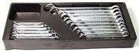 (W26116SP) Набор комбинированных ключей 6-24 мм, 16 предметов (ложемент) JONNESWAY