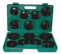 Комплект чашек для съема масляных фильтров 65-100 мм, 14 предметов JONNESWAY