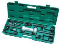 Набор для кузовного ремонта (обратный молоток и 9 насадок), 10 предметов JONNESWAY