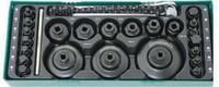 Набор для обслуживания системы смазки двигателей (замена масла.фильтров) (ложемент) JONNESWAY