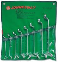 Набор ключей накидных 75° 6-22 мм, 8 предметов JONNESWAY