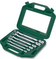 Набор ключей торцевых карданых 8-19 мм, 6 предметов JONNESWAY