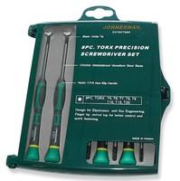 Набор отверток для точной механики TORX® Т5-Т10 6 предметов JONNESWAY
