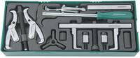 Набор съемников и приспособлений для обслуживания приводных шкивов (ложемент) JONNESWAY