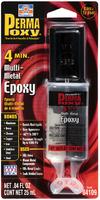 Клей эпоксидный мультиметалл (4мин), сдвоенный шприц 25 мл. PERMATEX