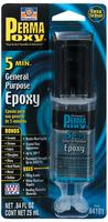 Клей эпоксидный многофункциональный(5мин) (сдвоенный шприц) 25 мл PERMATEX