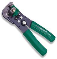 Профессиональный инструмент для обжима и зачистки проводов усиленный JONNESWAY