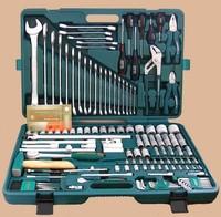 """Унив. набор торцевых головок 1/4""""DR 4-13 мм и 1/2""""DR 8-32 мм, комбинированных ключей 6-32 мм и отвер"""