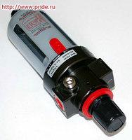 Фильтр (влагоотделитель) с регулятором давления для пневмоинструмента JONNESWAY
