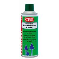 Смазка сборочная (графит+дисульфид молибдена) CRC GRAPHITE ASSEMBLY PASTE + MoS2, аэрозоль 400мл.