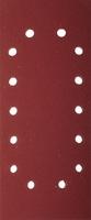 """Лист шлифовальный ЗУБР """"МАСТЕР"""" универсальный на зажимах, 14 отверстий по периметру, для ПШМ"""