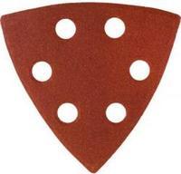 Треугольник шлифовальный универсальный STAYER на велкро основе, 6 отверстий