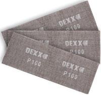 Шлифовальная сетка DEXX абразивная, водостойкая
