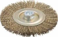 Щетка дисковая для угл шлиф маш, стальная