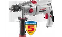 Дрель ЗУБР ударная, патрон 13мм, реверс,d:сталь-16 мм/бетон-16 мм/дерево-35 мм,1100Вт