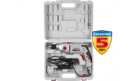 Дрель ЗУБР ударная,2скорост,патрон 13мм,реверс,d:сталь-16 мм/бетон-16 мм/дерево-35 мм,1100Вт,кейс