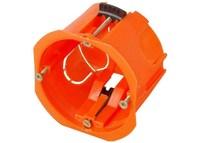 Коробка установочная СВЕТОЗАР для полых стен, макс. напряжение 400В, с пластиковыми лапками, 68х47м