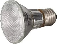 Лампа галогенная СВЕТОЗАР с защитным стеклом, цоколь E27, диаметр 97мм, 75Вт, 220В