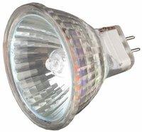 Лампа галогенная СВЕТОЗАР с защитным стеклом, цоколь GU5.3, 12В
