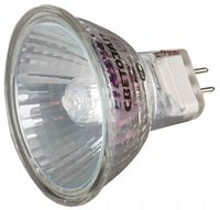Лампа галогенная СВЕТОЗАР с защитным стеклом, цоколь GU5.3, 220В