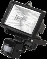 Прожектор галогеновый СВЕТОЗАР с датчиком движения, с дугой крепления под установку