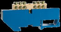 Шина СВЕТОЗАР нулевая на DIN-изоляторе, макс. ток 100А, 5,2мм