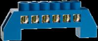 Шина СВЕТОЗАР нулевая, в изоляц оболочке, макс. ток 100А, 5мм