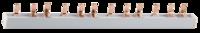 Шина-гребенка СВЕТОЗАР, 3Р, на 12 модулей, макс. ток 63A