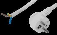 Шнур СВЕТОЗАР с вилкой соединительный для электроприборов с заземлением