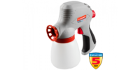 Краскопульт ЗУБР электрический, 300 мл/мин, вязкость краски 60 DIN,0,8л,120Вт