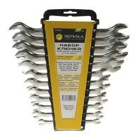 Набор ключей рожковых 6-24мм холдер 12 предметов (Chrome vanadium) PRO ЭВРИКА